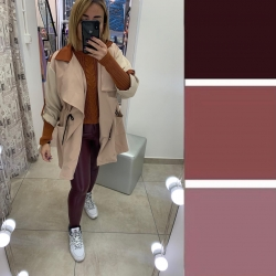 Come abbinare un pantalone bordeaux??  Un mix di sfumature di colore combinando una palette dai toni soft ed autunnali ma dal pizzico di stile in più, proviamo ad indossare i pantaloni bordeaux abbinandoli ad un maglioncino coccio! Assieme ad un cappotto o una giacca in color sabbia, beige o cipria ! con stivaletti in tinta ed una borsetta in rosso scuro o bordeaux che possa spiccare sul colore chiaro del cappotto! Ed il gioco e' fatto !